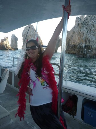 Cabo Party Fun: Bachelorette Party in Cabo San Lucas - Laurie