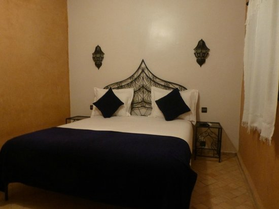 Riad Bouchedor: chambre du 2eme étage