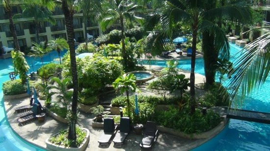 Merlin Beach Resort: vista dalla camera