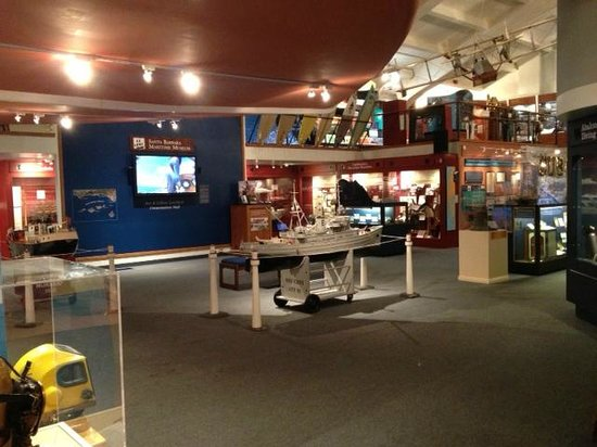 Santa Barbara Maritime Museum: First Floor of the Museum