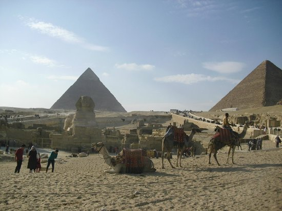 Cheops-Pyramide: Pyramids with Camel & Horse Rides