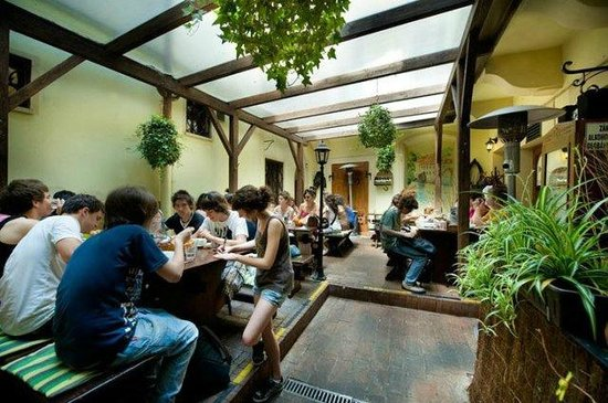 At the Golden Horseshoe - U Zlate Podkovy: Summer restaurant