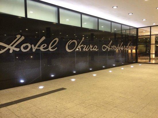 Hotel Okura Ámsterdam: Entrance