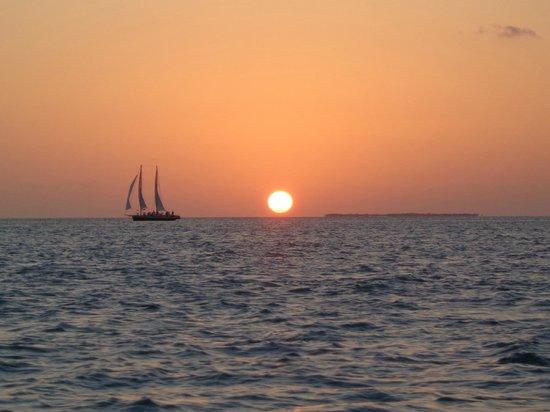 Sunset Pier : Atardecer en Key West