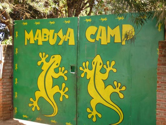 Mabuya Camp Front Security Guard monitored gate