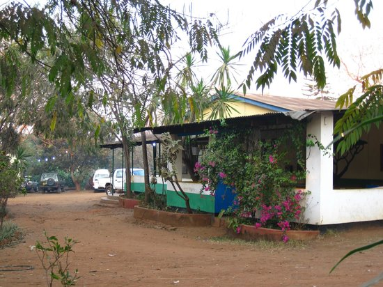 Mabuya Camp: Veranda great for relaxing and blogging