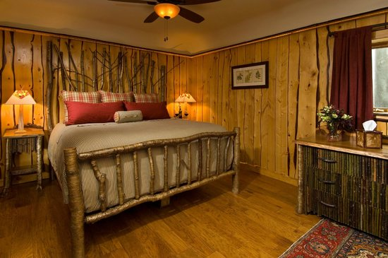 The Fern Lodge: Our Guest room