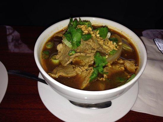 Zen Bistro : Beef noodle souo