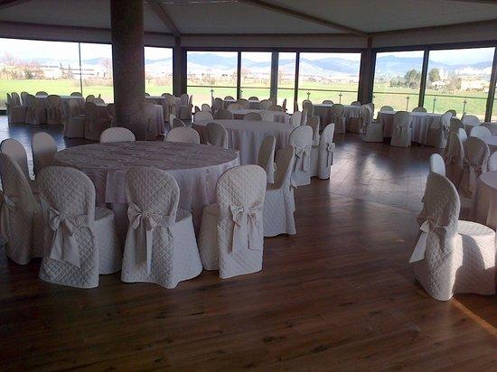 Valle di Assisi: sala banchetti