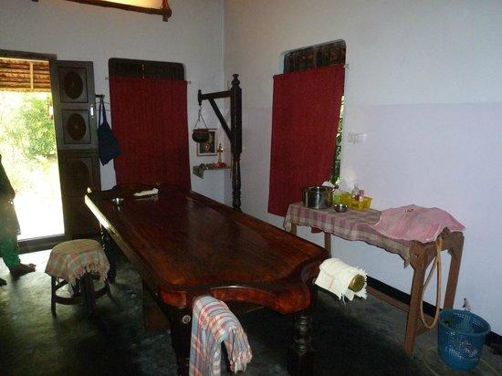 Big Banana Island Retreat: salle de massage