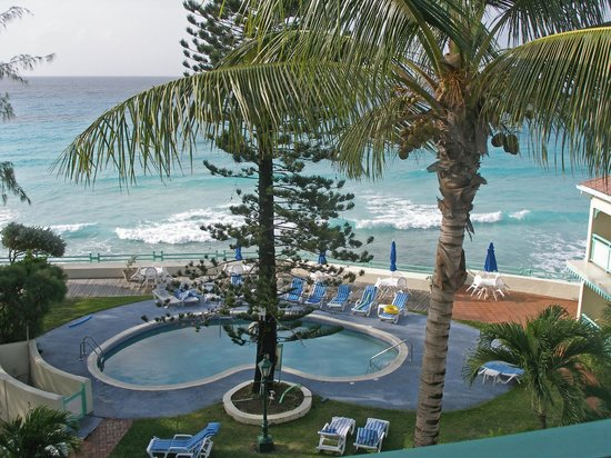 Blue Orchids Beach Hotel: Blue Orchid 4th floor view to sea