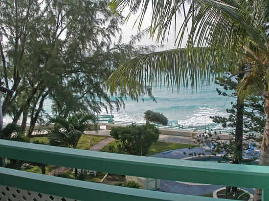 Blue Orchids Beach Hotel : 4th floor view