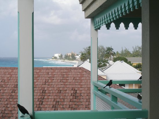 Blue Orchids Beach Hotel : 4th floor view to west