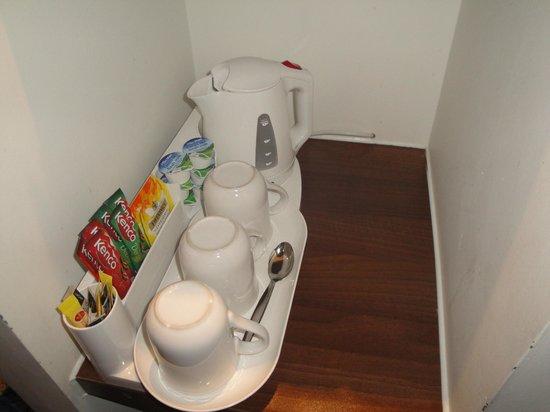 Holiday Inn Express London Stratford: Set para café y té