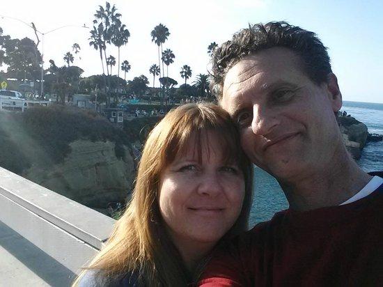 La Jolla Cove : My Wife and I