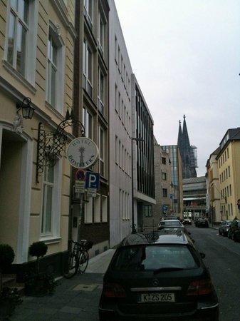 Hotel Domstern: Hotel avec la cathédrale