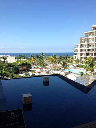Now Amber Puerto Vallarta: view from Lobby