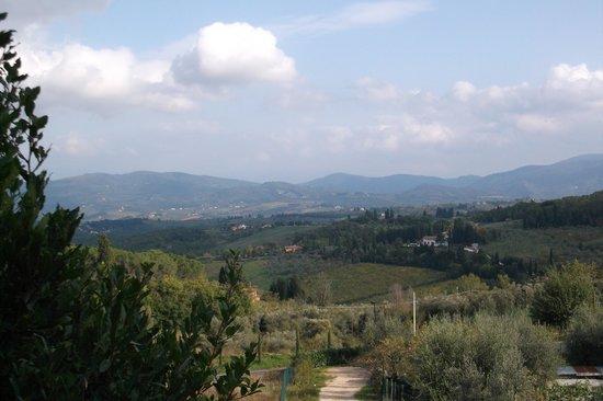 Hotel Ristorante Bellavista Impruneta : A view on the way to Bellavista