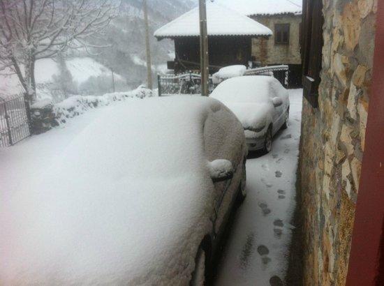 Hotel Rural Genestoso: la gran nevada