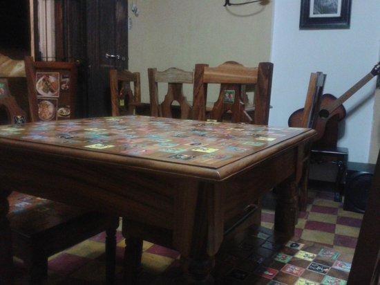 El Fogon de la Abuela Restaurant: Our table