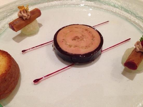 Waldhotel Sonnora Restaurant: foi gras
