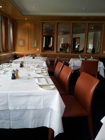 Hotel Murmeli: The interior of the restaurant