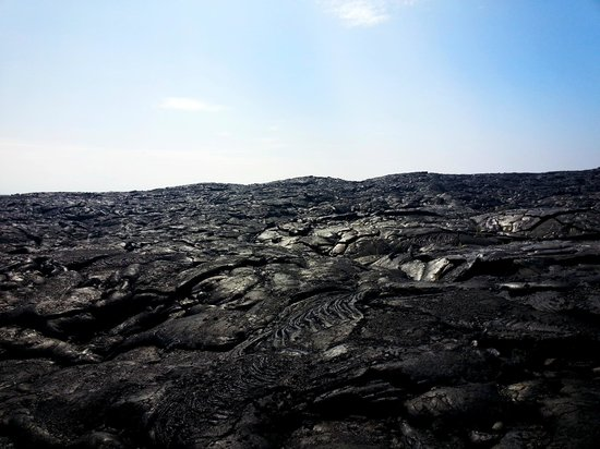 The Lava Field On Hawaii Volcano Tours