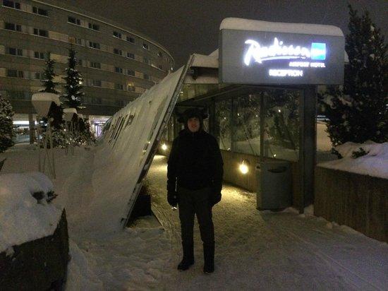 Radisson Blu Airport Hotel, Oslo Gardermoen : Ingreso