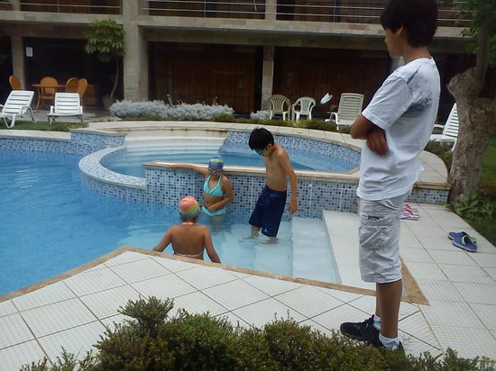 Hotel Rumi Wasi : A bañarse cachorro...!!!