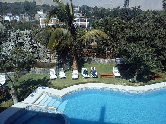 Hotel Rumi Wasi : Hermosa vista...!!!