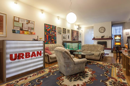 Urban Hostel: Reception/Common area