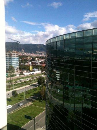 Bogota Marriott Hotel: Vista desde la habitacion