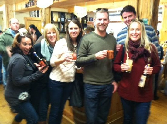 Traverse Bay Tours: A wine and distillery tour.