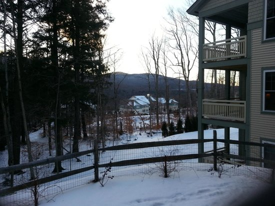 Smugglers' Notch Resort : View from our patio