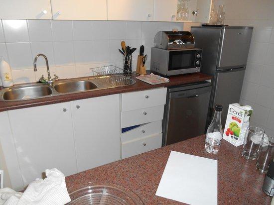 Derwent House Boutique Hotel: cocina