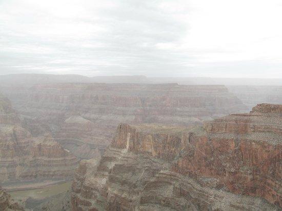 Grand Canyon Skywalk: Vista Gran Cañon