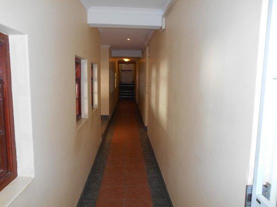 Derwent House Boutique Hotel: pasillo de entrada