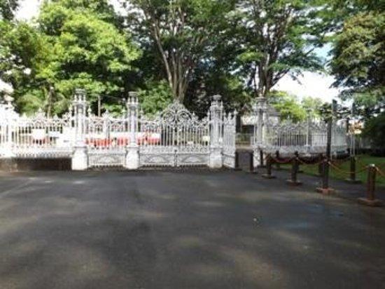 SSR Botanic Garden: grille