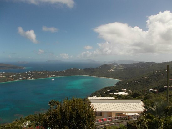 St. Peter Greathouse Estate & Gardens: Magens Bay.  Perhaps the best public view available on St Thomas.