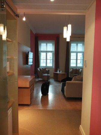 Le Meridien Vienna : it's not all the room...