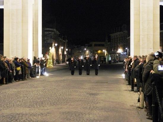 Last Post ceremony 16th December