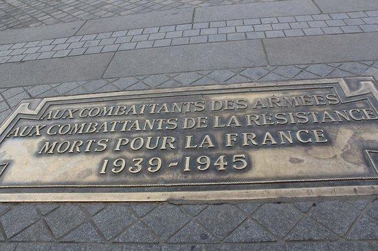Arc de Triomphe: Arc d' Triomphe
