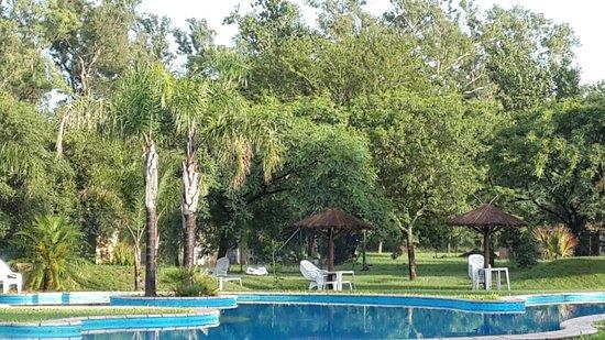 Solares De La Laguna: Vista de la piscina central