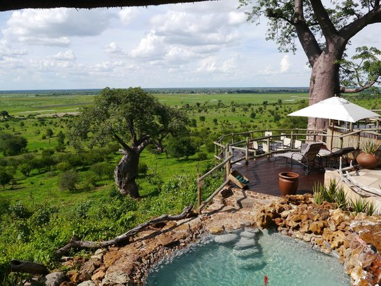 Ngoma Safari Lodge: view from the bar