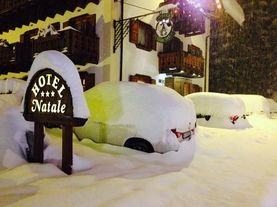 Hotel Natale: grande nevicata