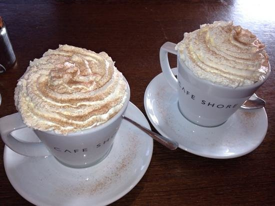 Cafe Shore : Lxurious Hot Chocolate