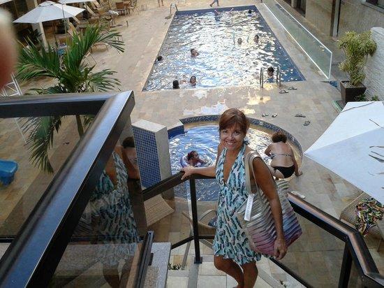 Malibu Palace Hotel: Piscina