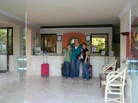 Cabanas Maria Del Mar: Lobby