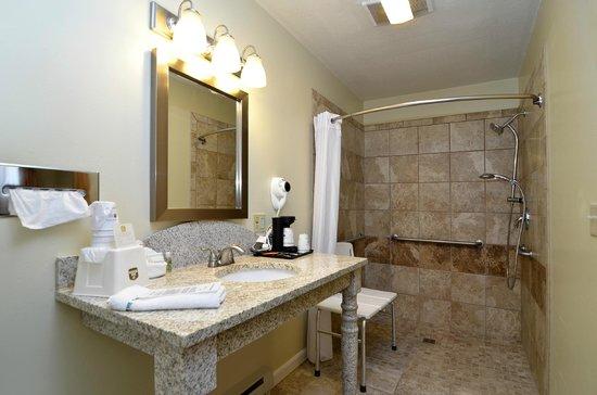 GuestHouse Acorn Inn: ADA Bathroom