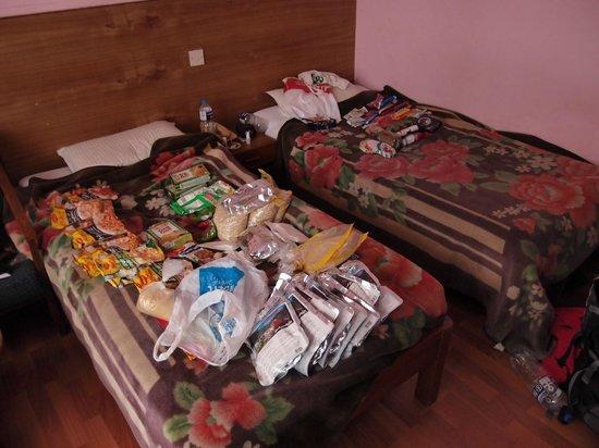 Tasi Dhargey Inn: Beds